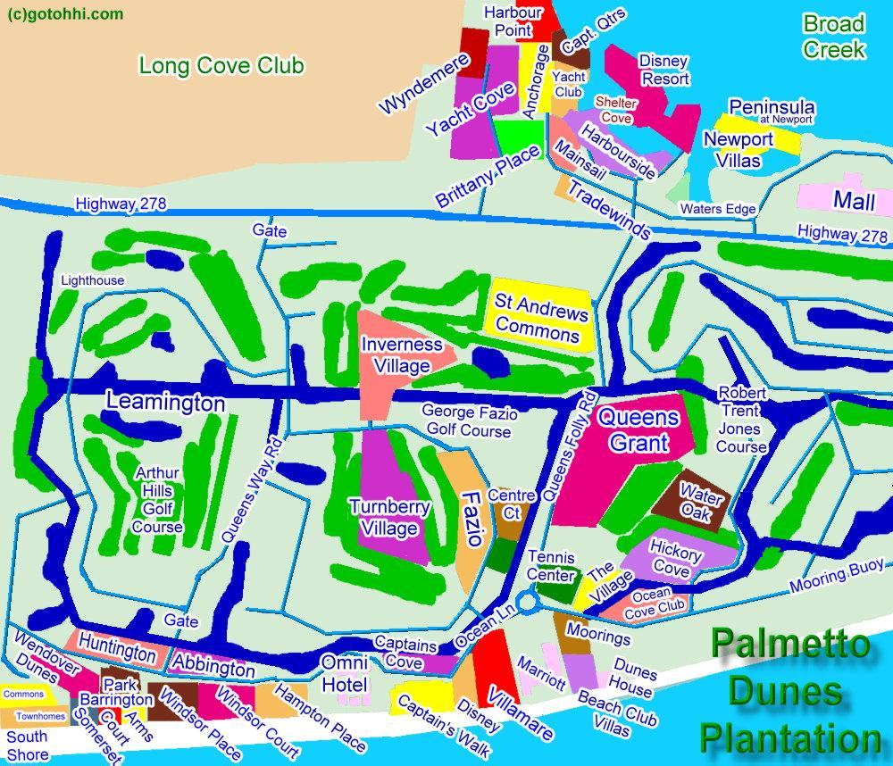 palmetto dunes interactive map cheryl morgan hilton head